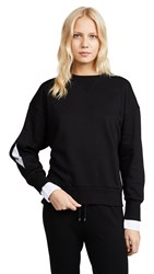 Evidnt Back Tie Sweatshirt Black