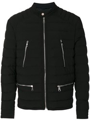 Neil Barrett Padded Jacket Men Nylon Polyamide Spandex Elastane M Black