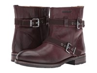 Sebago Laney Mid Boot Burgundy Leather Women's Boots