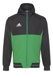 Adidas Performance Tiro Tracksuit Top Black Green White