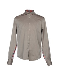 Poggianti Shirts Dark Brown