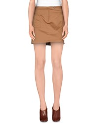 Cnc Costume National C'n'c' Costume National Skirts Mini Skirts Women Camel