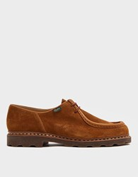 Paraboot Michael Velours Whisky Shoe Brown