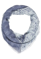 Guess Langley Scarf Blue Denim