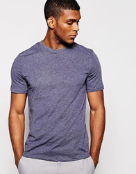 Reiss Crew Neck T Shirt Denimmarl