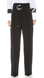 Preen Lexie Trousers With Belt Black