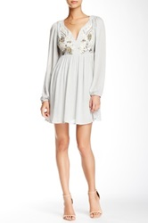 Ryu V Neck Long Sleeve Dress