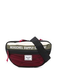 Herschel Supply Co. Contrast Logo Patch Belt Bag Black
