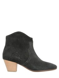 Isabel Marant Etoile 50Mm Dicker Suede Ankle Boots