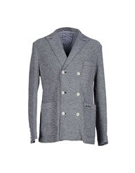 Philippe Model Suits And Jackets Blazers Men Steel Grey