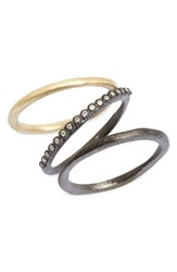 Armenta Women's Old World Diamond Stacking Rings Set Of 3