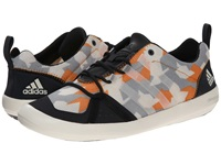 Adidas Outdoor Climacool Boat Lace Graphic Dark Grey Chalk White Lucky Orange Men's Shoes Gray
