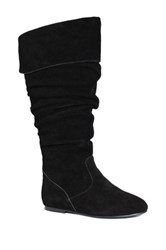 San Jacinto Estacado Extra Wide Calf Boot Wide Width Available Black