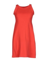 Anneclaire Short Dresses Coral