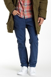 Jack Spade Brantley 5 Pocket Canvas Pant Blue