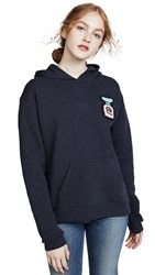 Michaela Buerger Perfume Bottle Hoodie Navy