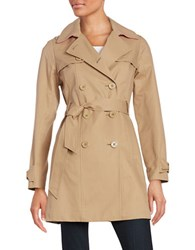 Kate Spade Double Breasted Trench Jacket Camel