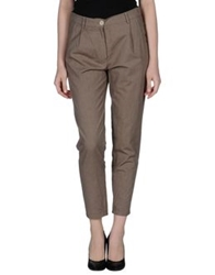 Semi Couture Casual Pants Khaki