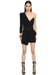 Alexandre Vauthier One Sleeve Cady Andtwill Dress