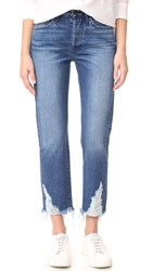 3X1 Higher Ground Boyfriend Crop Jeans Rushmore