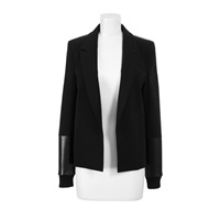 Anthony Vaccarello Jacket Black