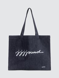A.P.C. X Jjjjound Shopping Bag Blue