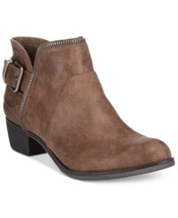 American Rag Edee Ankle Booties Only At Macy's Women's Shoes Charcoal