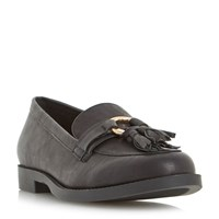 Head Over Heels Gussie Loafers Black