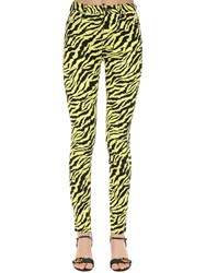 Gucci High Rise Zebra Print Cotton Denim Jeans Array 0X58d9e18