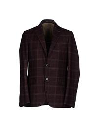 Royal Hem Blazers Deep Purple