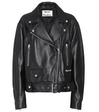 Acne Studios Merlyn Leather Jacket Black