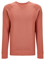 Dockers Crew Neck Jumper Washed Red
