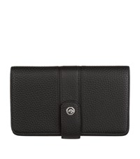 Stefano Ricci Leather Wallet With Card Holder Black
