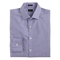 J.Crew Ludlow Cotton Linen Shirt In Vineyard Grape Microgingham