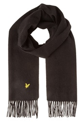 Lyle And Scott Scarf True Black