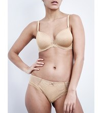 Chantelle C Chic Sexy Underwired Plunge Bra Perfect Nude