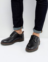 Kg By Kurt Geiger Marston Lace Up Shoes Black Leather