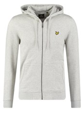 Lyle And Scott Tracksuit Top Light Grey Marl