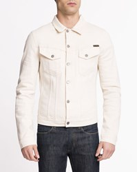 Nudie Jeans Beige Selvedge Denim Billy Shirt