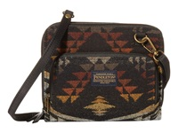 Pendleton Wallet On A Strap Diamond River Black Cross Body Handbags