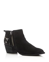 Dolce Vita Saylor Pointed Toe Booties Black