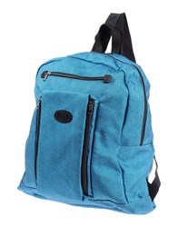 Mauro Grifoni Bags Rucksacks And Bumbags Men Turquoise