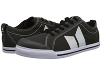 Macbeth Eliot Vegan Dark Grey White Vegan Skate Shoes Gray