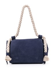 Elena Ghisellini Rope Handle Tote Bag Blue