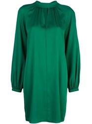 Milly Shift Evening Dress Green