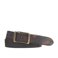 J.Crew Wallace And Barnes Leather Belt Dark Roast