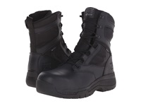 Timberland 8 Valor Duty Composite Safety Toe Waterproof Side Zip Black Men's Work Lace Up Boots
