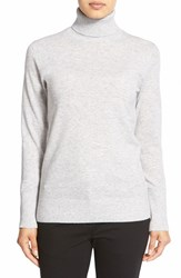 Women's Nordstrom Collection Cashmere Turtleneck Sweater Grey Clay Heather