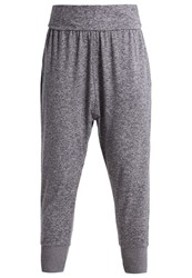 Lorna Jane Tracksuit Bottoms Charcoal Marl Grey
