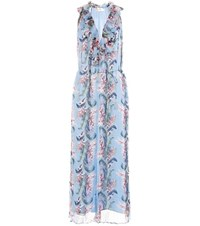 Zimmermann Winsome Ruffle Silk Jumpsuit Multicoloured